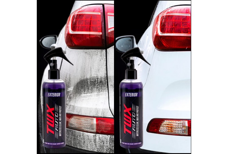 TWX® Auto Exterior 3-in-1 Waterless Clean, Wax and Protect for Car Exterior