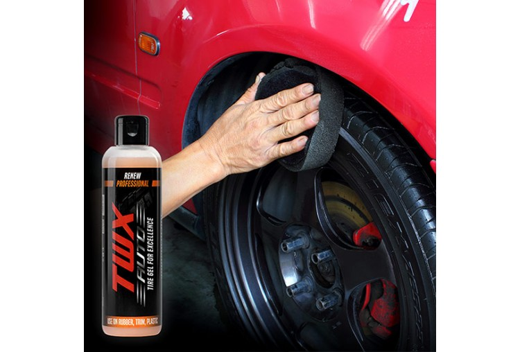 TWX® Auto Tires Gel for Shiny Tires