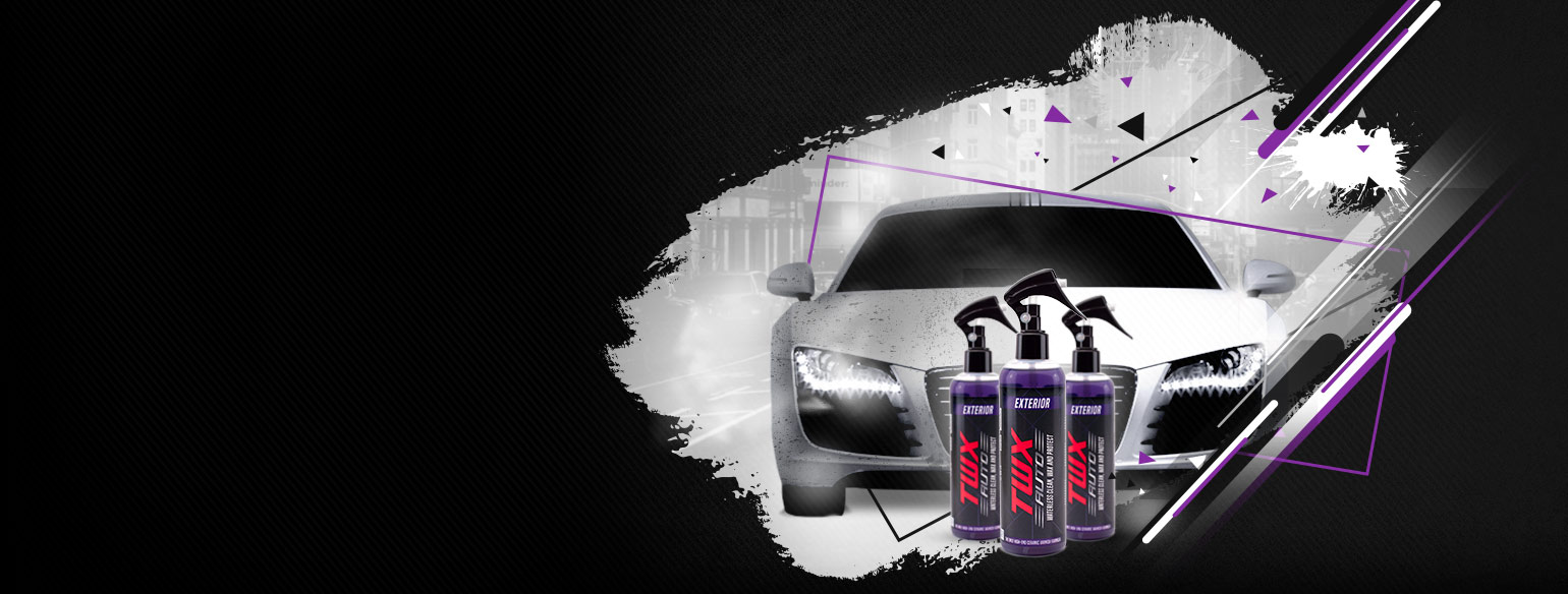 Simplified car care products WITH PROFESSIONAL RESULTS!